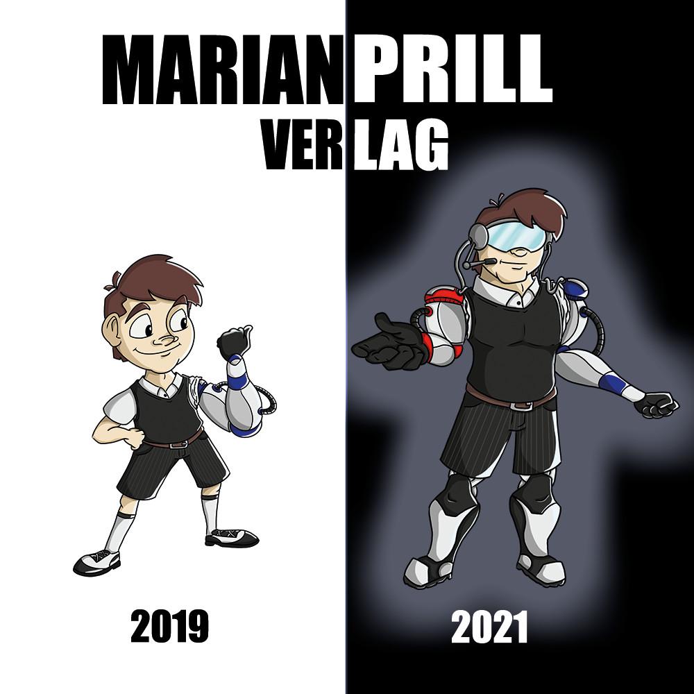 Marian Prill Verlag 2019-2021